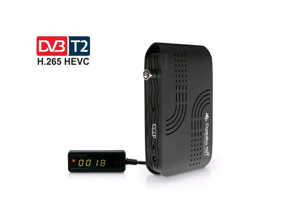 AB CryptoBox 702T mini HD DVB-T2 /Full HD/ USB
