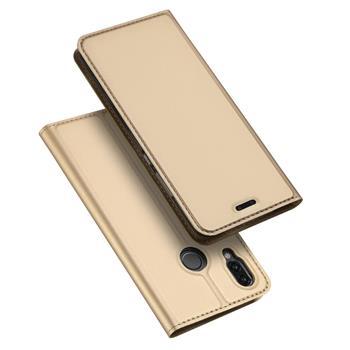 Flipové pouzdro Dux Ducis Skin pro Xiaomi Redmi Note 8 Pro, zlatá
