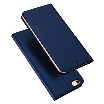Flipové pouzdro Dux Ducis Skin pro Xiaomi Redmi Note 8 Pro, tmavě modrá
