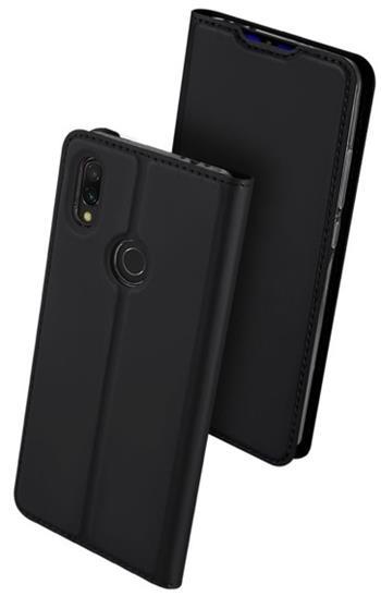 Flipové pouzdro Dux Ducis Skin pro Xiaomi Redmi Note 8 Pro, tmavě šedá