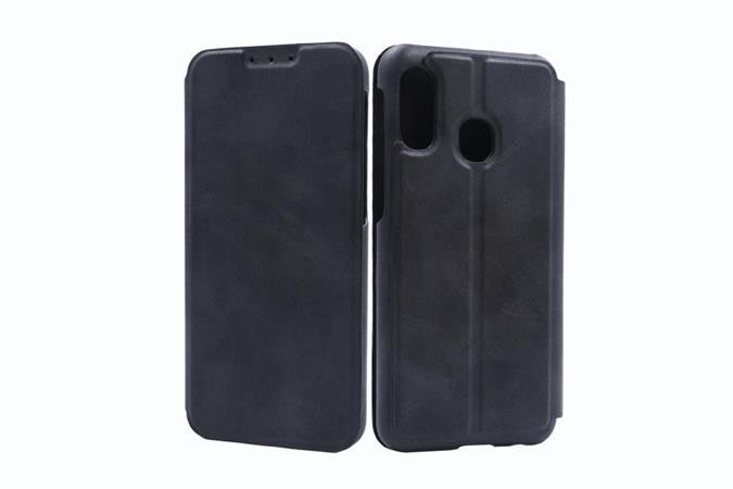 Flipové pouzdro Lenuo Lede pro Samsung Galaxy A20e, black