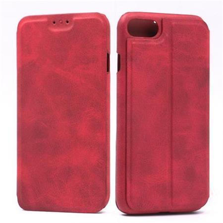 Flipové pouzdro Lenuo Lede pro Apple iPhone 8/7, red