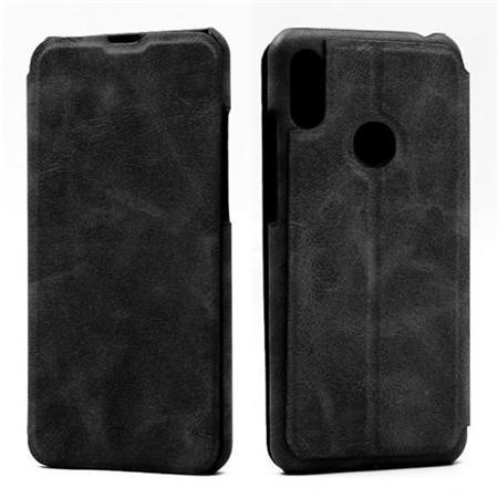Flipové pouzdro Lenuo Lede pro Huawei Y6 Prime (2019), black