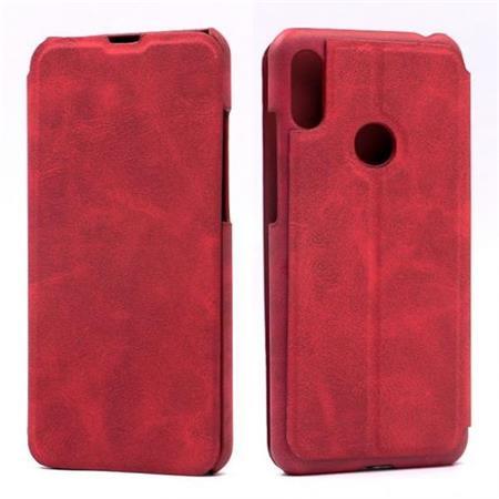 Flipové pouzdro Lenuo Lede pro Huawei Y6 Prime (2019), red