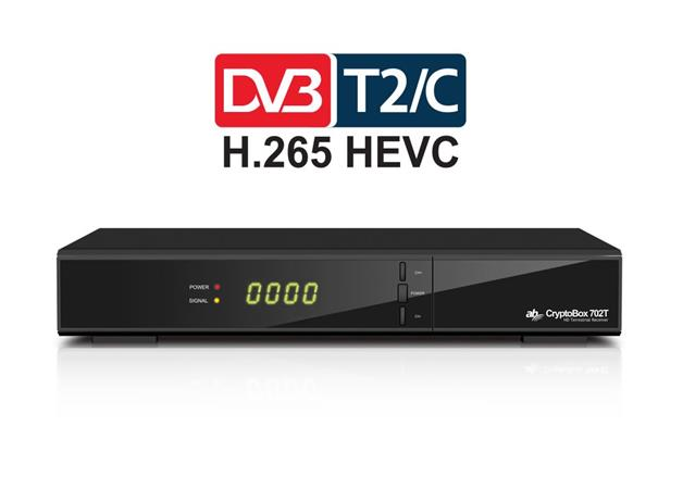 AB CryptoBox 702T HD / Full HD DVB-T2 přijímač / USB