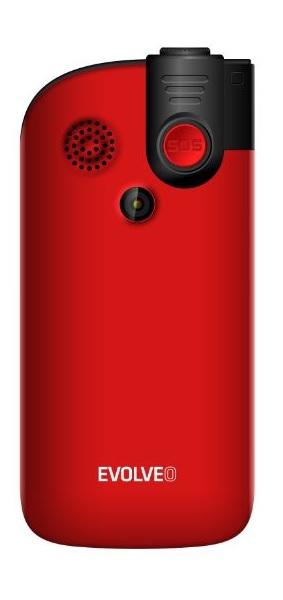 Evolveo EasyPhone FM červená