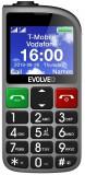 Evolveo EasyPhone FM stříbrná