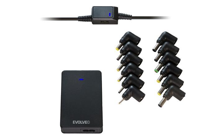 Univerzální napájecí zdroj pro notebooky Evolveo Chargee B90, 90W