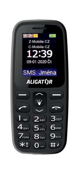 Aligator A220 Senior černá