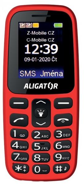 Aligator A220 Senior červená