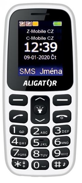 Aligator A220 Senior bílá