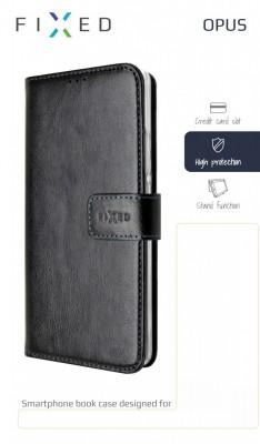 FIXED Opus flipové pouzdro pro Nokia 7.2, černé