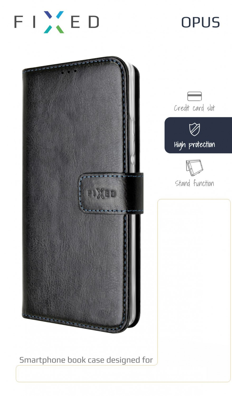FIXED Opus flipové pouzdro pro Nokia 6.2, černé