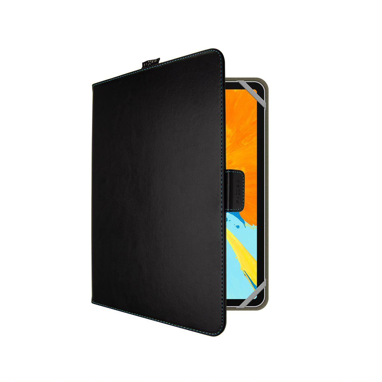 """FIXED Novel pouzdro pro 10.1"""" tablety se stojánkem a kapsou, černétablety se stojánkem a kapsou, černé"""