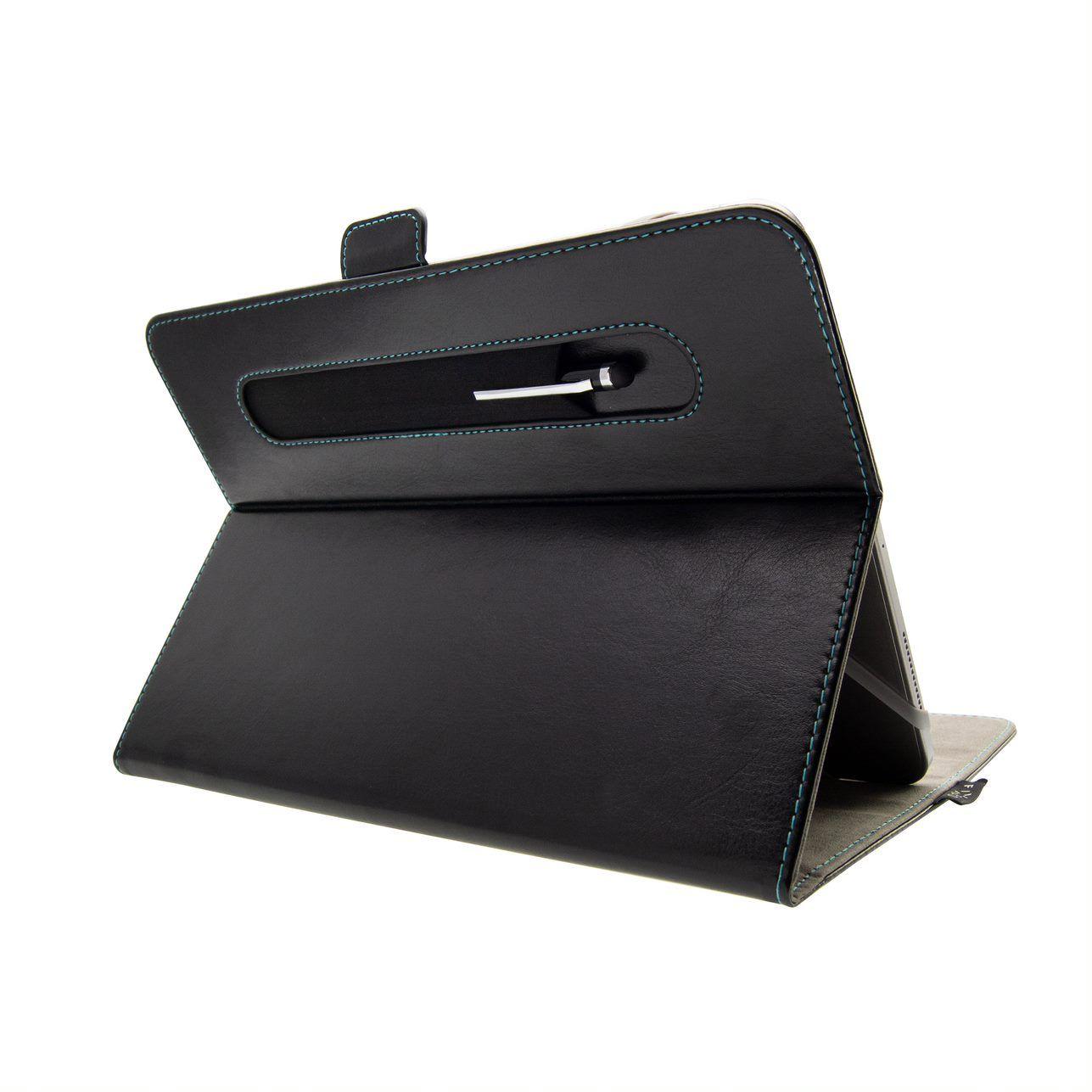 """FIXED Novel pouzdro pro 10.1"""" tablety se stojánkem a kapsou, černé"""