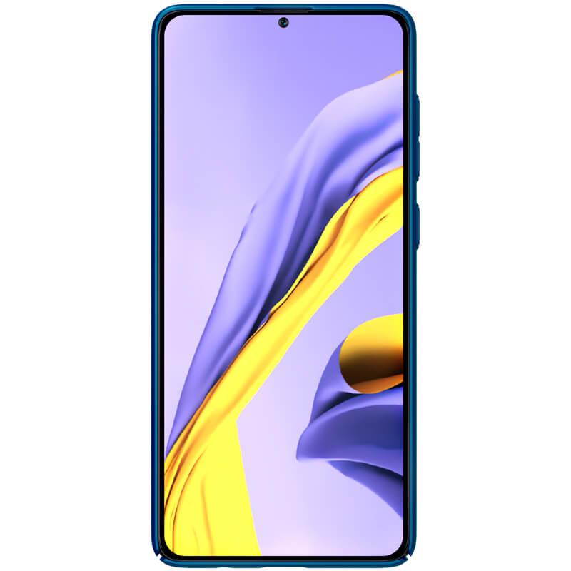 Zadní kryt Nillkin Super Frosted pro Samsung Galaxy A71, blue
