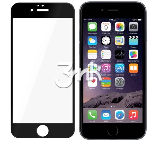 Hybridní sklo 3mk NeoGlass pro Apple iPhone 7 Plus, 8 Plus, černá