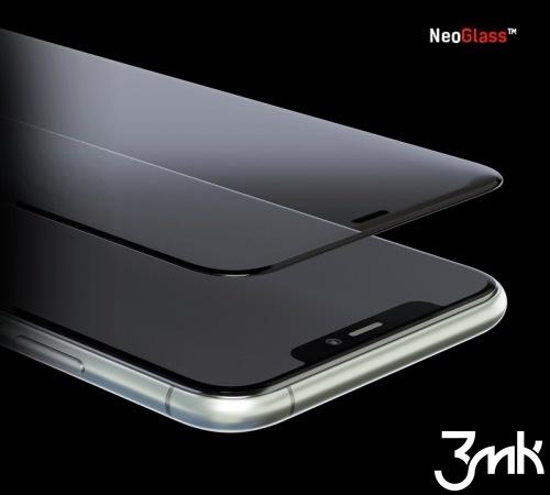 Hybridní sklo 3mk NeoGlass pro Apple iPhone 11, černá