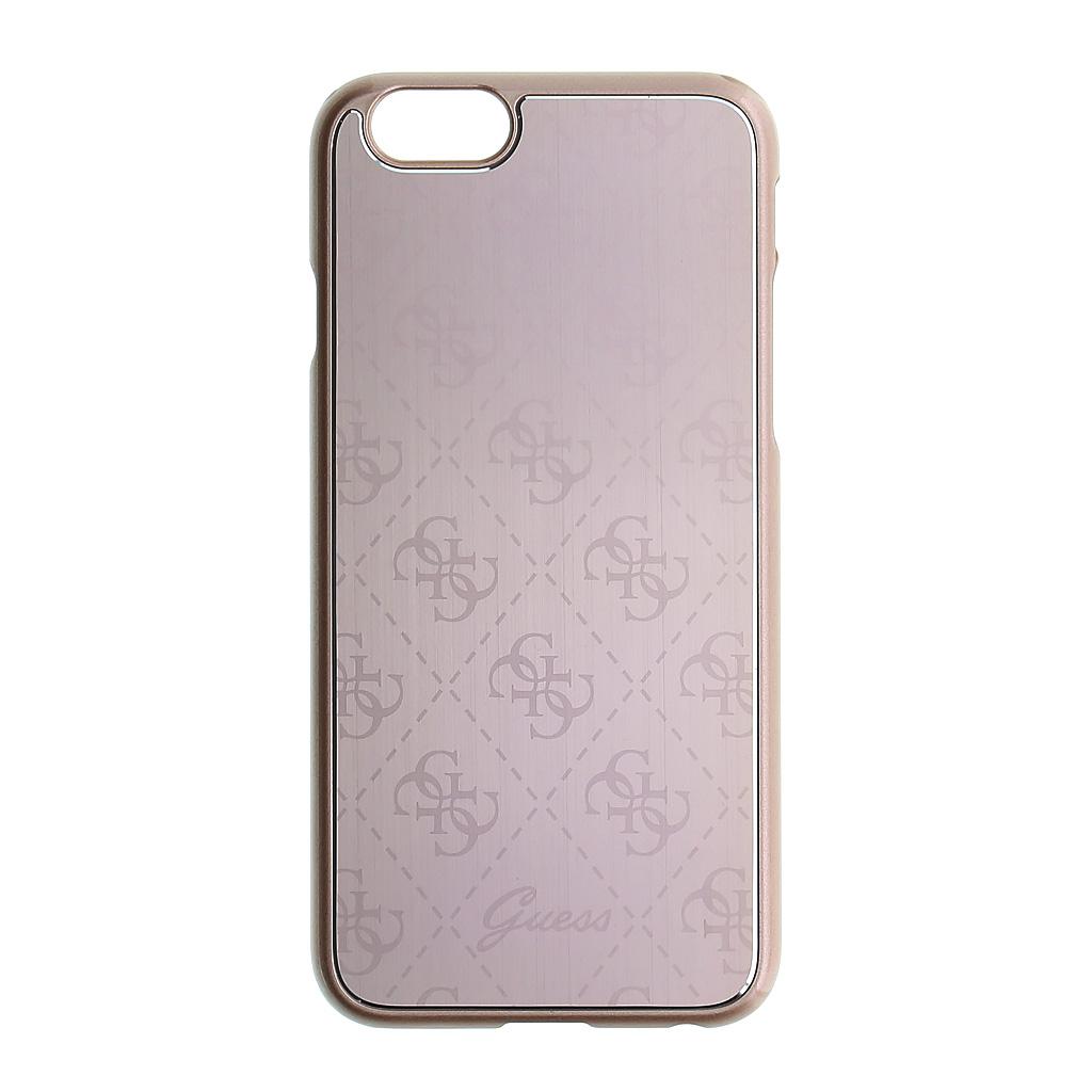 Guess 4G Metallic Hard pouzdro GUHCP6MEPI pro Aple iPhone 6 pink