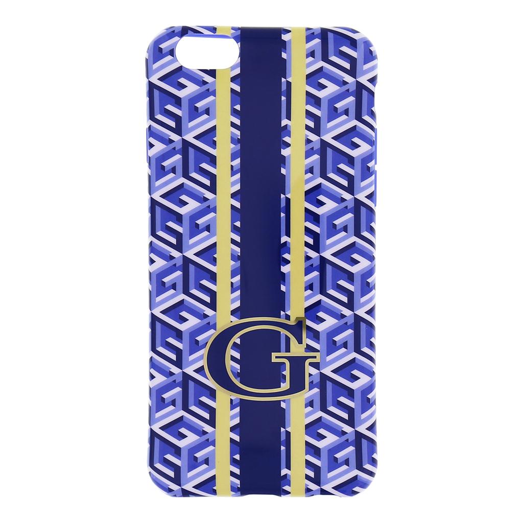 Guess G-Cube silikonové pouzdro GUHCP6GCUBLTPU pro Apple iPhone 6 blue