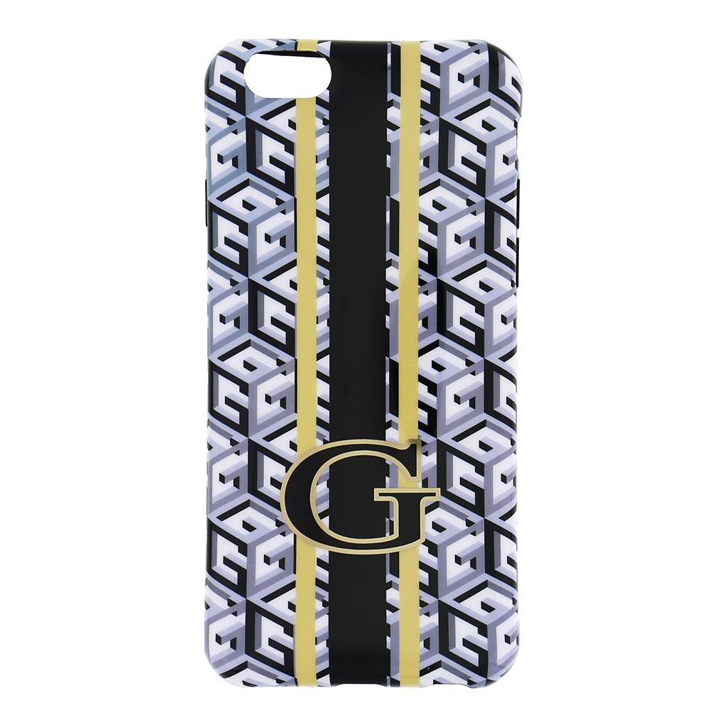 Guess G-Cube silikonové pouzdro GUHCP6GCUBK pro Apple iPhone 6 black