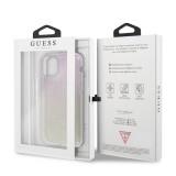 Guess Glitter Gradient Zadní kryt GUHCN58PCUGLGPI pro Apple iPhone 11 Pro pink