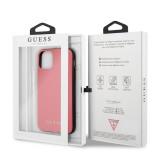 Guess Zadní kryt GUHCN58PUMPI pro Apple iPhone 11 Pro pink