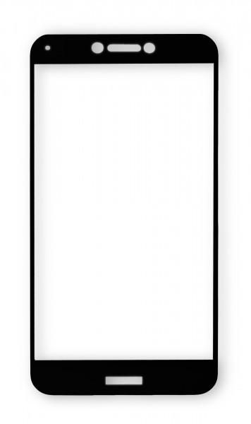 Ochranné tvrzené sklo ALIGATOR PRINT pro Samsung Galaxy A20, celoplošné lepení, černá