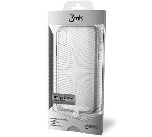 Ochranný kryt 3mk Clear Case pro Apple iPhone Xs Max, čirá