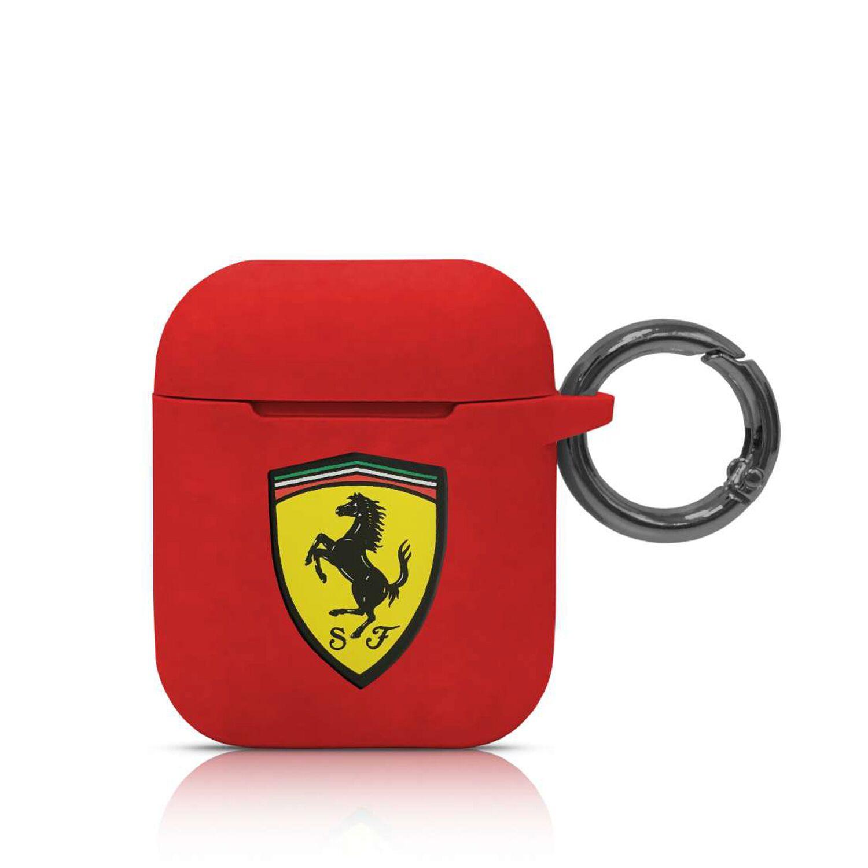 Ferrari Silikonový kryt FESACCSILSHRE pro Airpods red