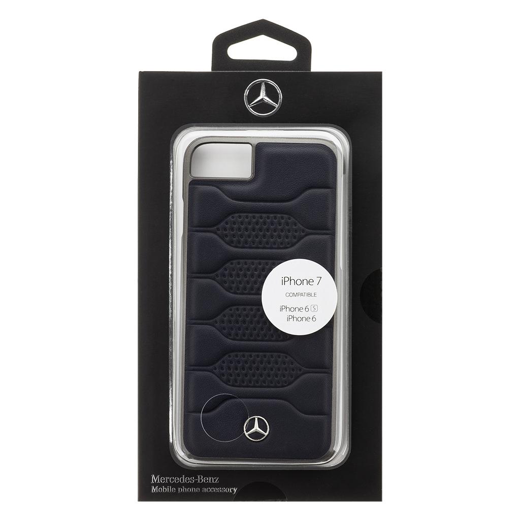 Mercedes Pattern 1 zadní kryt MEHCP7PGRNA pro Apple iPhone 7/8 black