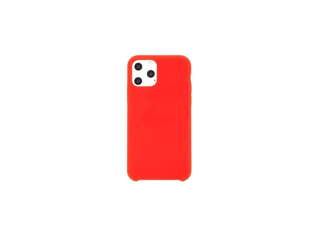 Silikonové pouzdro Swissten Liquid pro Apple iPhone 11 Pro Max, červená