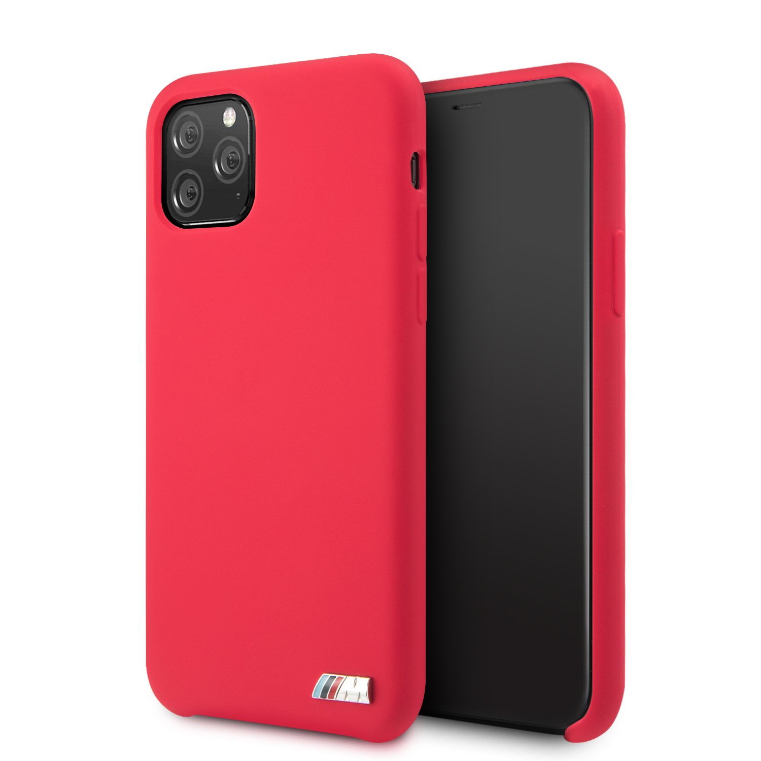 BBMW M Silikonový kryt BMHCN58MSILRE pro Apple iPhone 11 Pro red