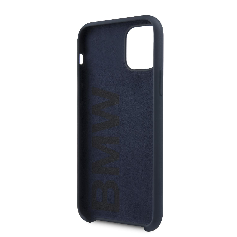 BMW Signature silikonový kryt BMHCN61SILNA pro Apple iPhone 11 navy