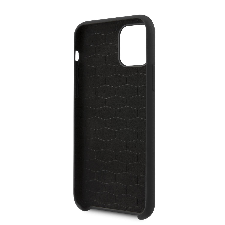 BMW M Silikonový kryt BMHCN65MSILBK pro Apple iPhone 11 Pro Max black