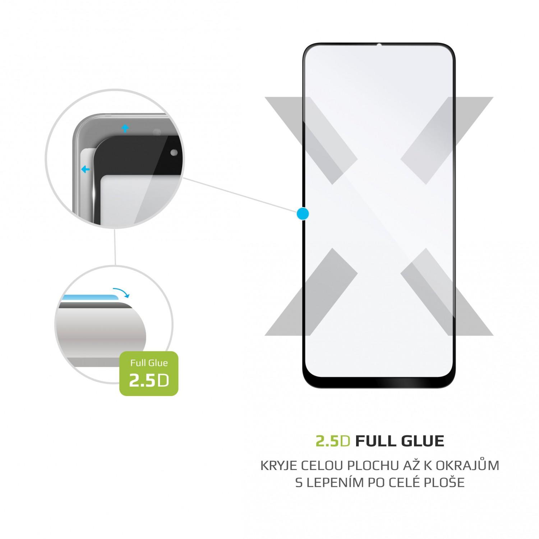 Tvrzené sklo FIXED Full-Cover pro Realme 5, black