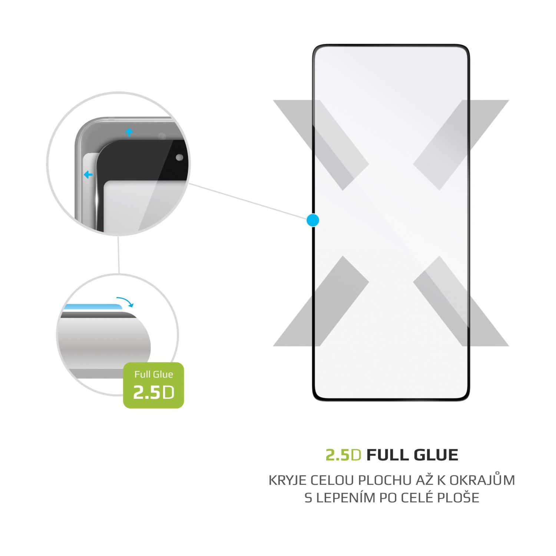 Tvrzené sklo FIXED Full-Cover pro Samsung Galaxy S10 Lite, black