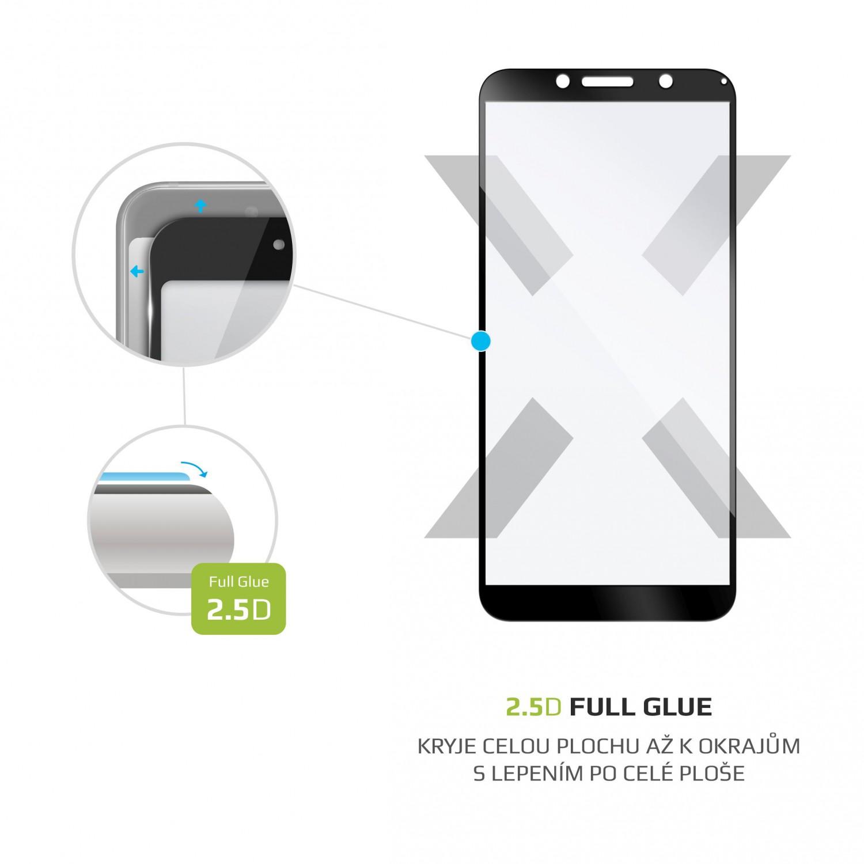 Tvrzené sklo FIXED Full-Cover pro Motorola Moto E6 Play, black