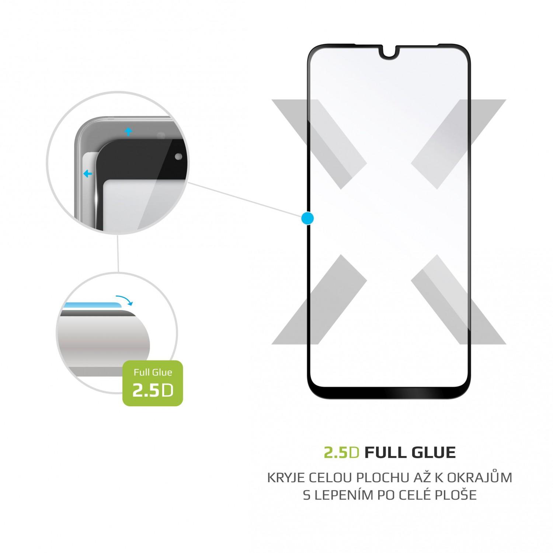 Tvrzené sklo FIXED Full-Cover pro Motorola One Macro, black