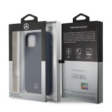 Mercedes Liquid silikonový kryt MEHCN61SILNA pro Apple iPhone 11 navy