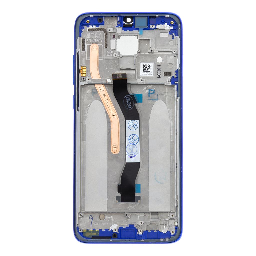 LCD + dotyk + přední kryt pro Xiaomi Redmi Note 8 Pro, blue