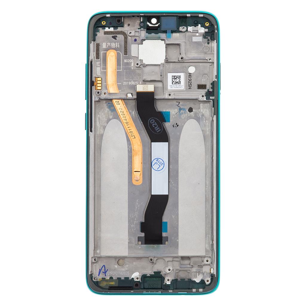 LCD + dotyk + přední kryt pro Xiaomi Redmi Note 8 Pro, green