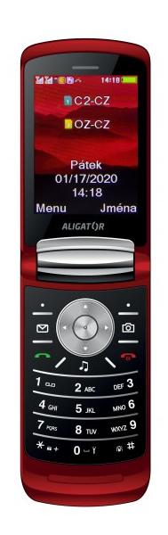 Aligator DV800 červená
