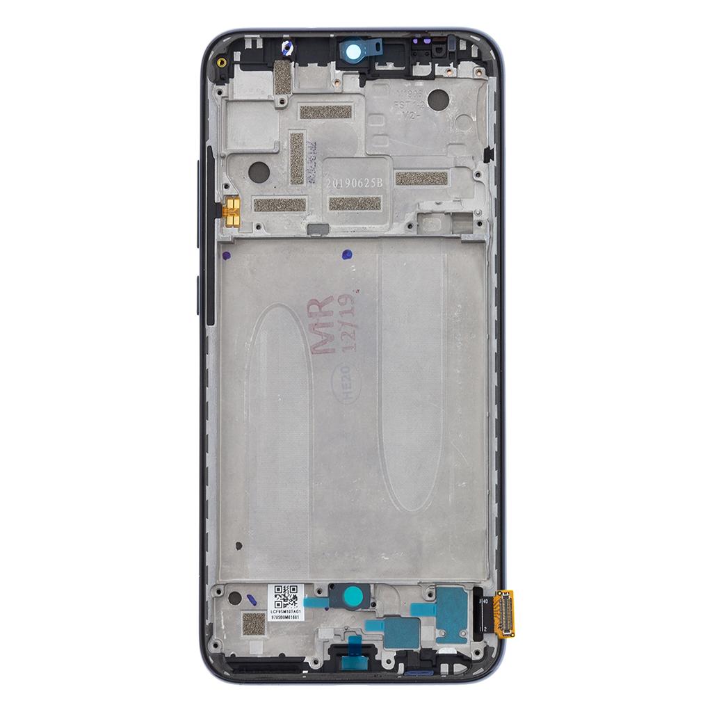 LCD + dotyk + přední kryt pro Xiaomi Mi A3, black (Service Pack)
