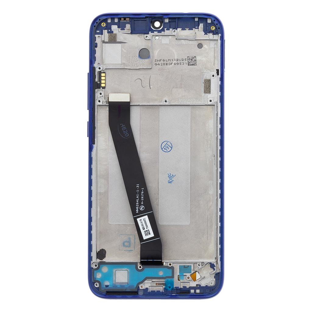 LCD + dotyk + přední kryt pro Xiaomi Redmi 7, blue (Service Pack)
