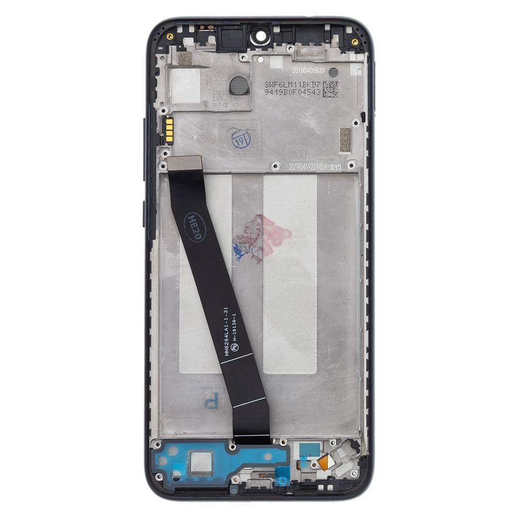 LCD + dotyk + přední kryt pro Xiaomi Redmi 7, black (Service Pack)