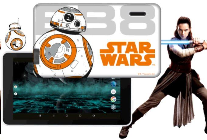 """eSTAR Hero 7"""" 2GB/16GB Wi-Fi Star Wars BB8"""