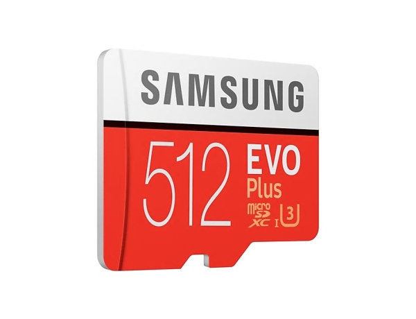 Paměťová karta Samsung microSDXC 512GB EVO Plus + SD adaptér