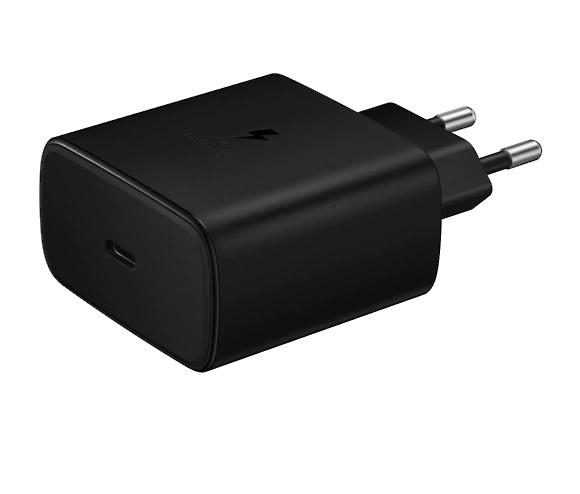 Cestovní nabíječka Samsung EP-TA845XWE Quickcharge, černá
