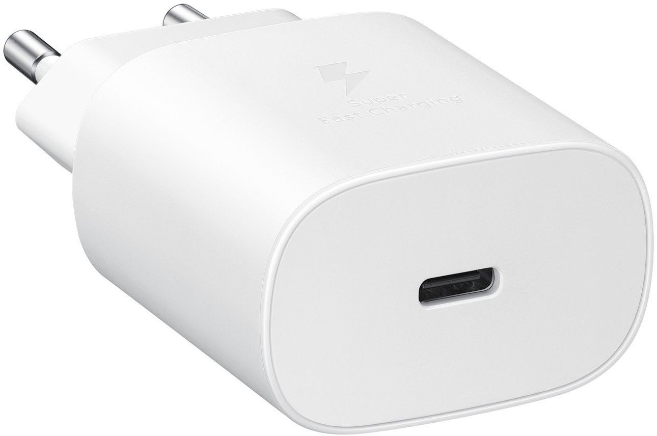 Cestovní nabíječka Samsung Quickcharge EP-TA800XWE 25W bílá